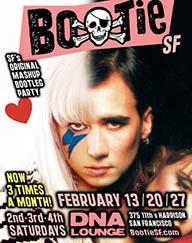 Bootie San Francisco February 2010 Flyer